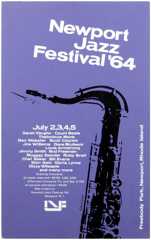 Lot Detail - Chet Baker 1964 Newport Jazz Festival Concert ...