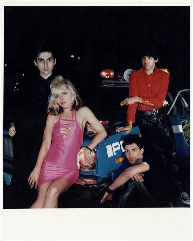 "Lot Detail - Blondie 1977 ""Plastic Letters"" Vintage Outtake Photograph"