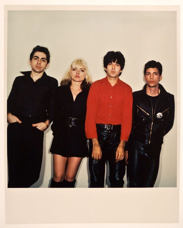 blondie plastic letters outtake album cover photograph hover to zoom