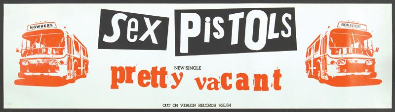the sex pistols pretty vacant lyrics