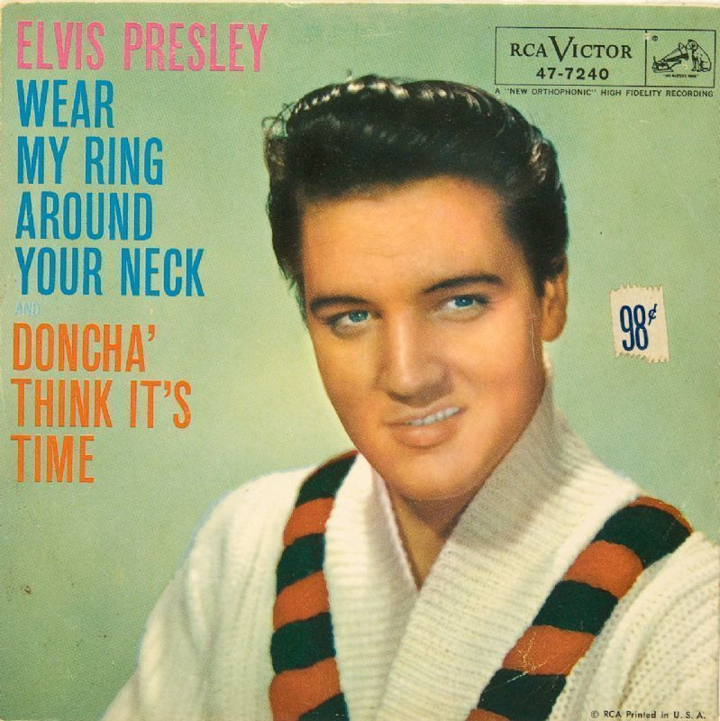 Elvis Presley Wear My Ring