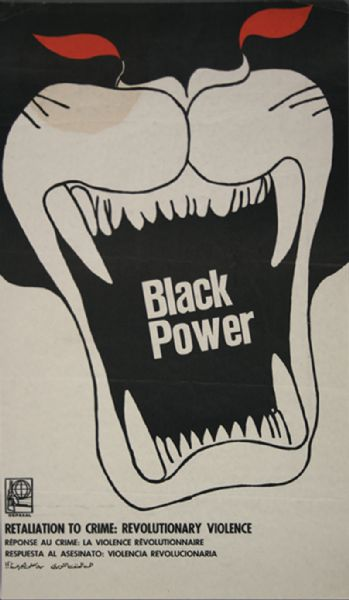 "Original ""Black Power"" OSPAAAL Poster"