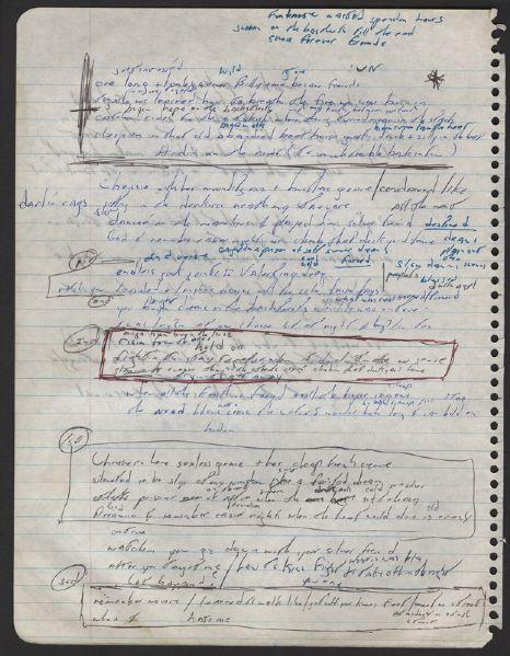Lot Detail - Bruce Springsteen Handwritten