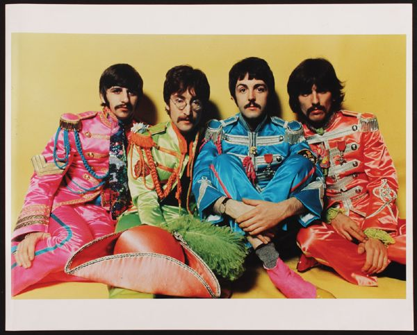 The Beatles Sgt. Pepper Vintage Outtake Photograph