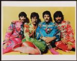 "The Beatles ""Sgt. Pepper"" Vintage Outtake Photograph"