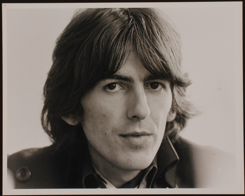Lot Detail - George Harrison Barry Wentzell Stamped ... George Harrison