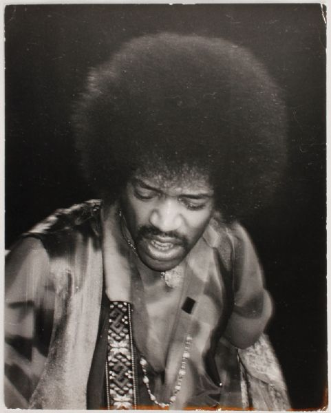 Jimi Hendrix Jeffrey Mayer Original Photograph