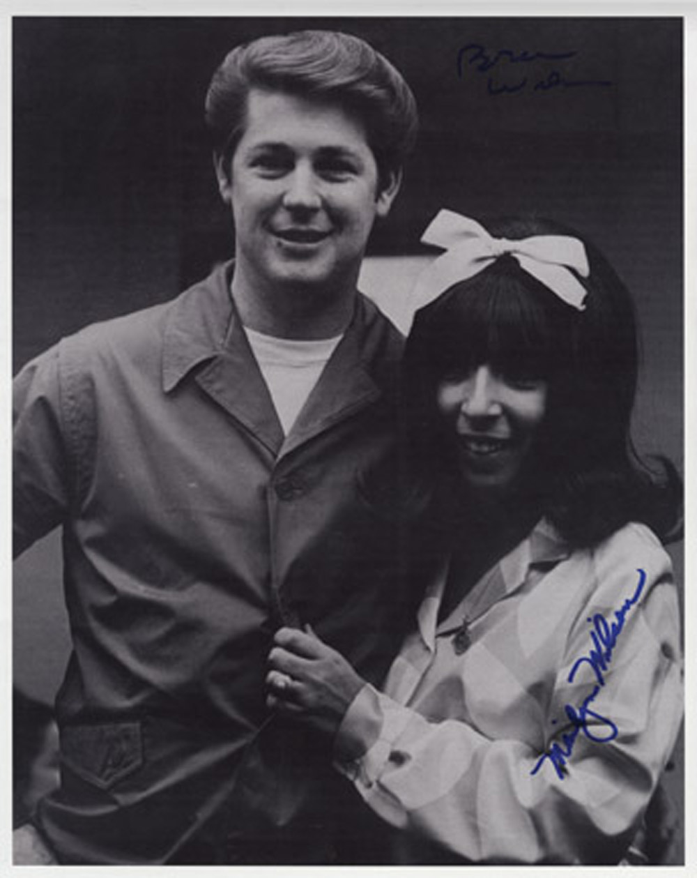 Beach Boys Brian Wilson Signed Photograph Hover To Zoom