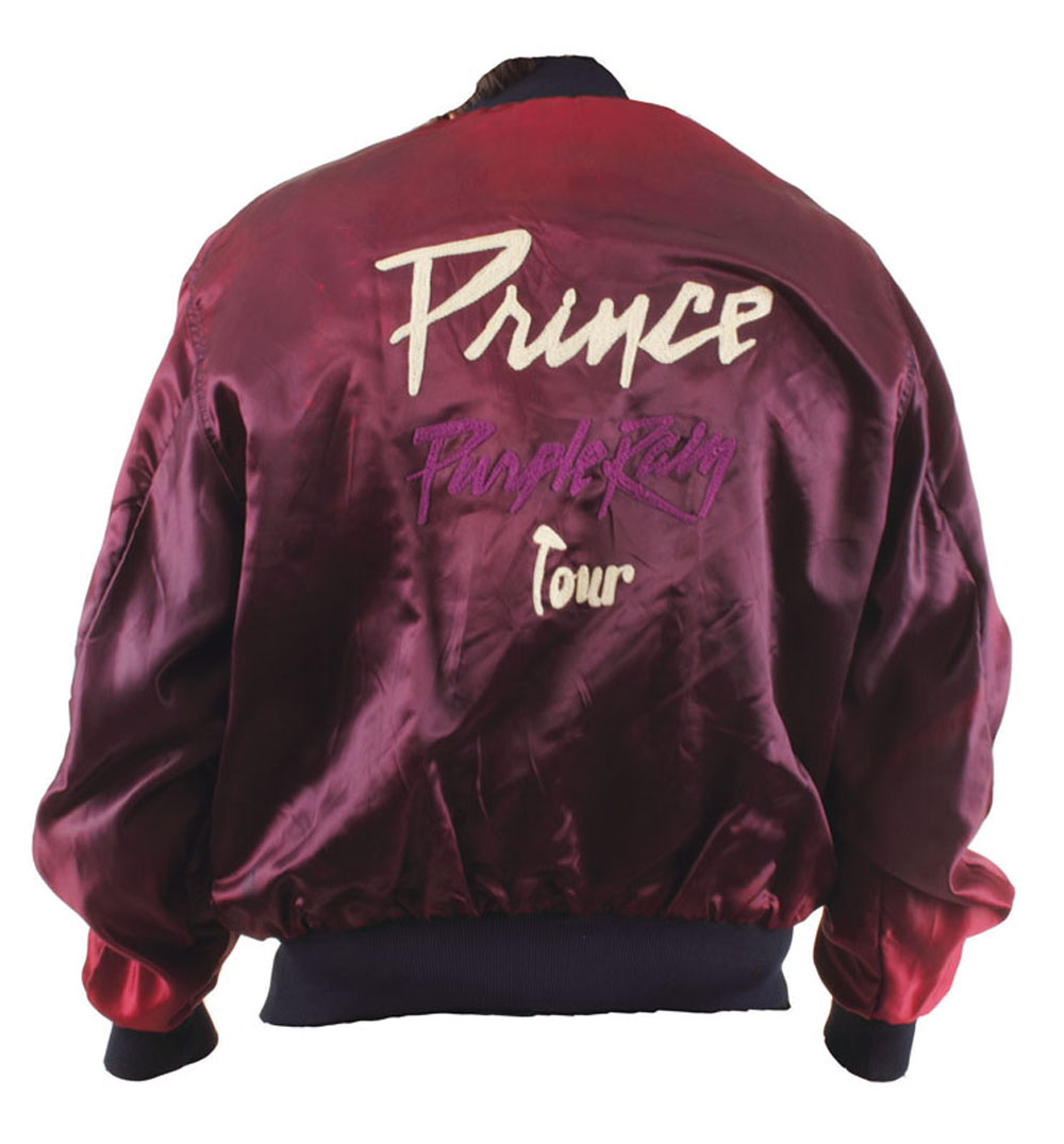 Lot Detail - Prince Purple Rain Original Tour Jacket