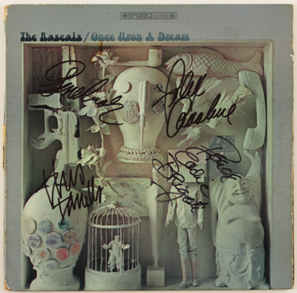 Lot Detail The Rascals Signed Quot Once Upon A Dream Quot Album