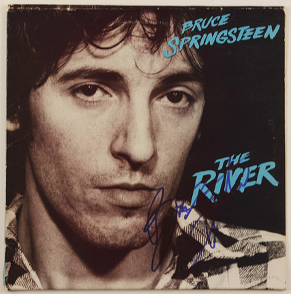 Lot Detail Bruce Springsteen Signed Quot The River Quot Album