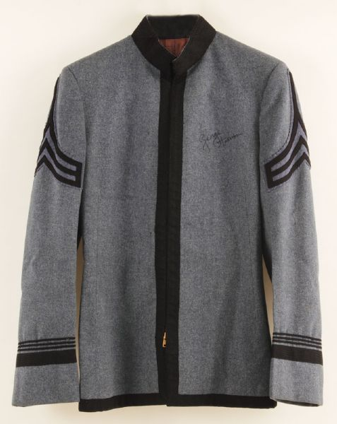 George Harrison Mid 60s Signed Military Style Wool Jacket