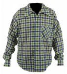 Elvis Presley 1950s Worn Plaid Shirt
