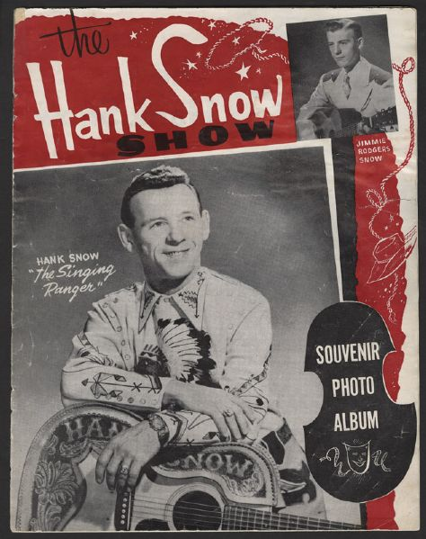 Elvis Presley Hank Snow Souvenir Program