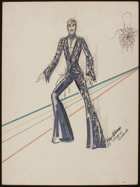 Elvis Presley Original Jumpsuit Design