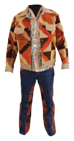 Elvis Presley 1970's Worn Nudie's Jacket and Pants With Shirt