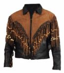 Elvis Presley Worn Nudies Custom Made Leather Jacket
