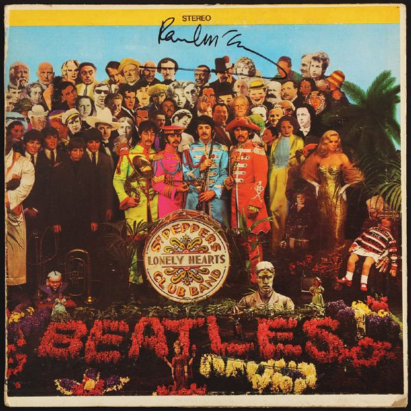 Paul McCartney Signed Sgt. Pepper's Lonely Hearts Club Band Album