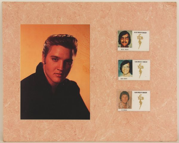 Elvis Presley TCB ID Display