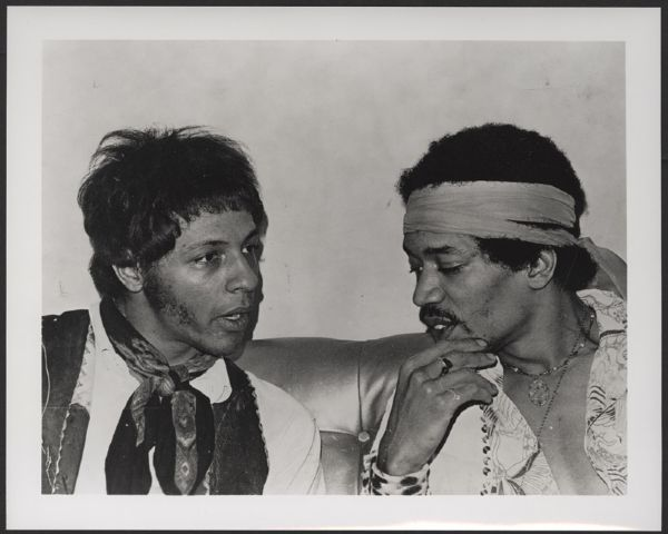 Jimi Hendrix & Arthur Lee at the Whiskey Original Photograph Archive