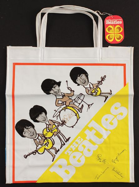 1960's Beatles Japanese Vinyl Concert Bag Sealed