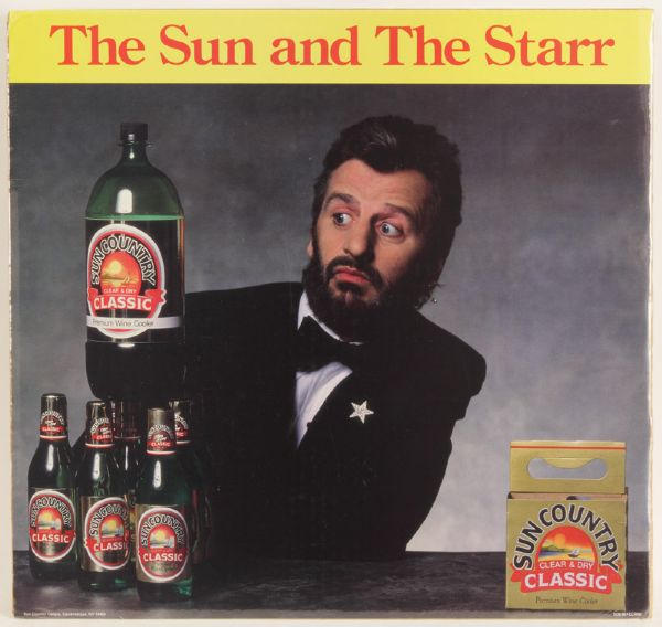 Ringo Starr The Sun and The Star Cardboard Poster