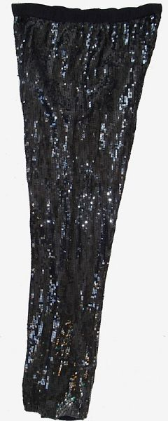 Princess Diana of Wales Worn Andre Van Pier Custom Made Sequin Chiffon Pants