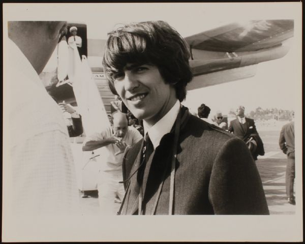 George Harrison Gloria Stavers Original Photograph