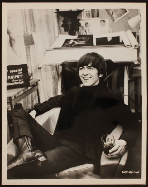 George Harrison Original Photograph
