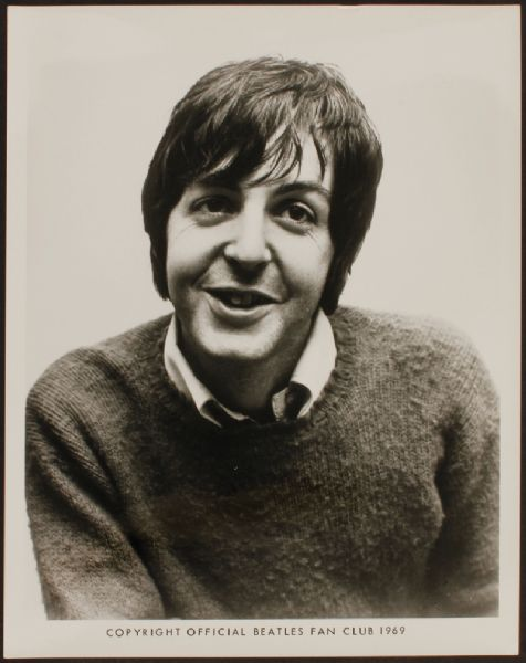 Paul McCartney Original Photograph