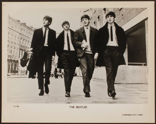The Beatles Dezo Hoffman Original Photograph