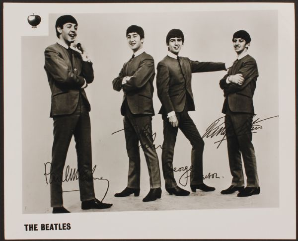 The Beatles Apple Records Original Photograph