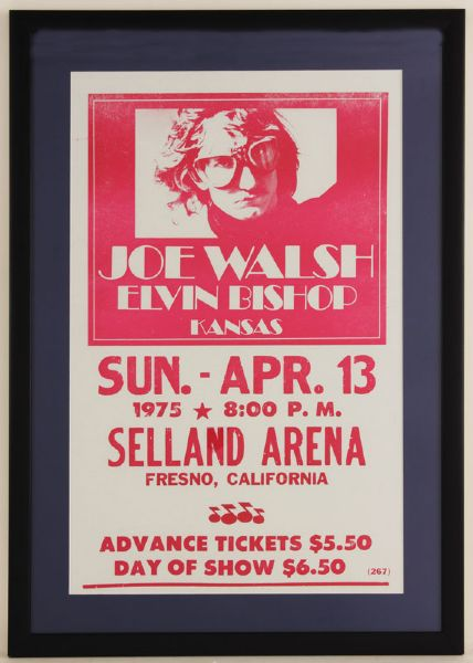 Joe Walsh Original Concert Poster