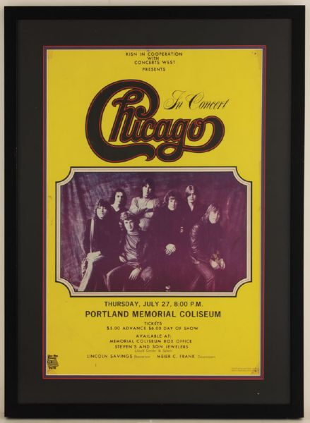Chicago Original Concert Poster