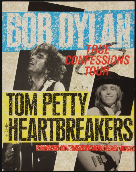 Bob Dylan/Tom Petty & The Heartbreakers Original Tour Program