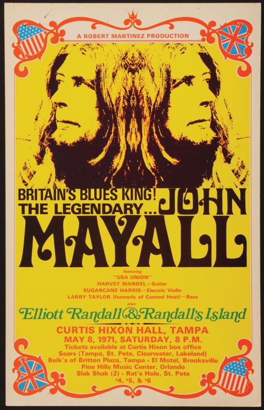 Shotgun Express 0312 Vintage Music Poster Art John Mayall Rod Stewart