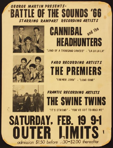 Battle of the Sounds '66 Original Poster