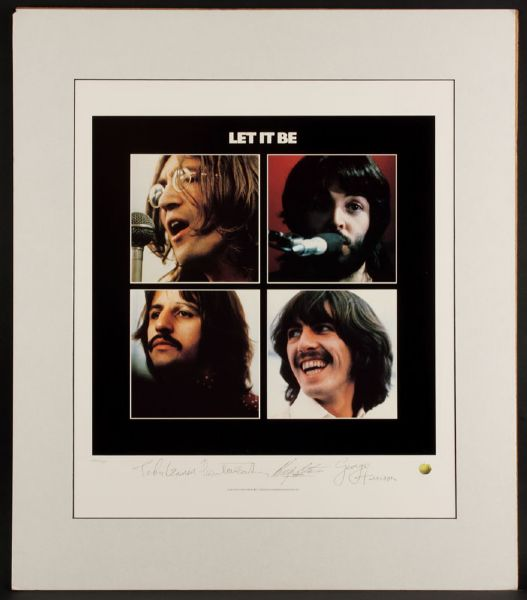 Let It Be Original Lithograph