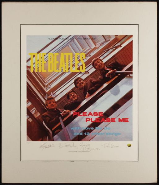 Please Please Me Original Lithograph