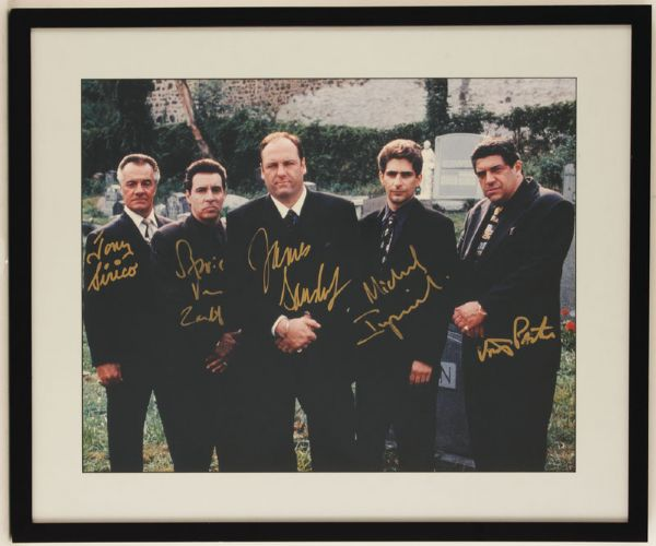 The Sopranos Cast Signed Photograph