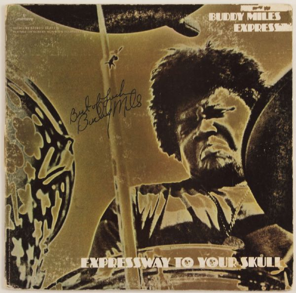 Buddy Miles Signed Expressway To Your Skull Album