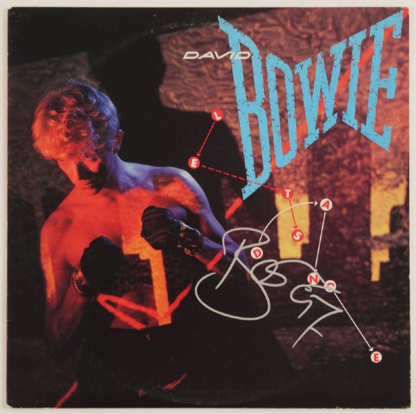 "David Bowie Signed ""Lets Dance"" Album"
