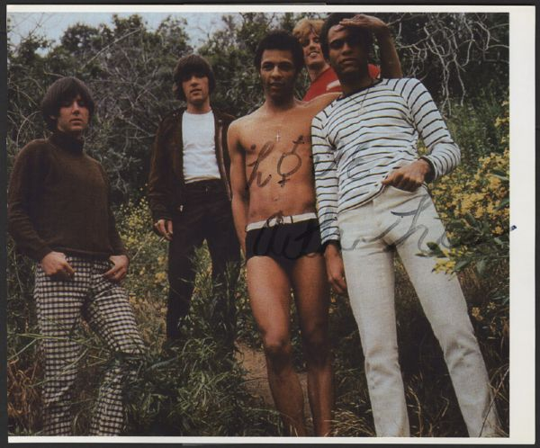 Arthur Lee Signed Photograph