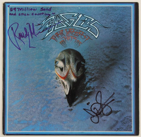 "Eagles Signed ""Greatest Hits"" Album"