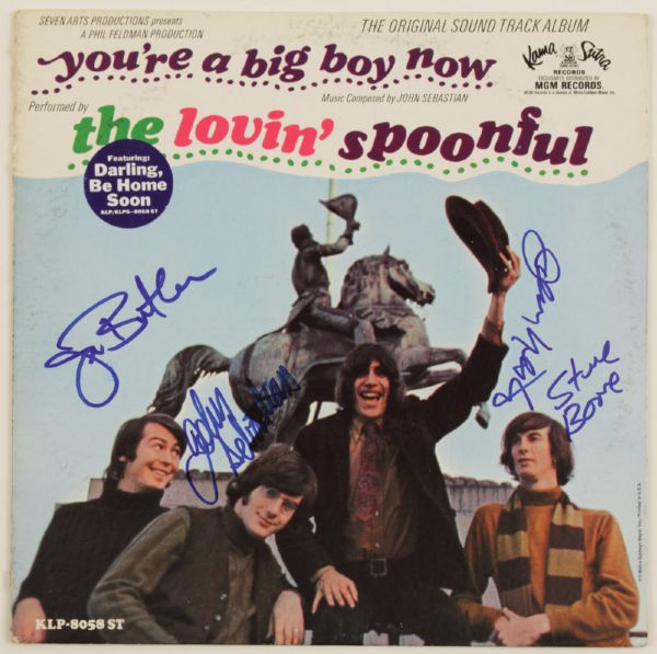 The Lovin' Spoonful Signed You're A Big Boy Now Sound Track Album
