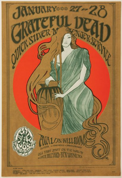 The Grateful Dead Original Poster
