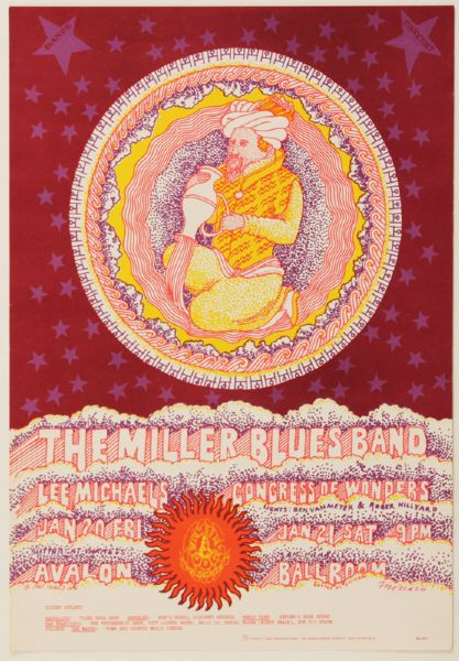 The Steve Miller Blues Band Original Poster