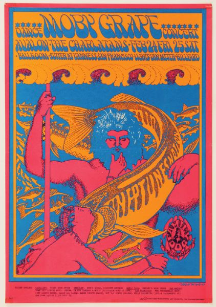 Moby Grape Original Poster