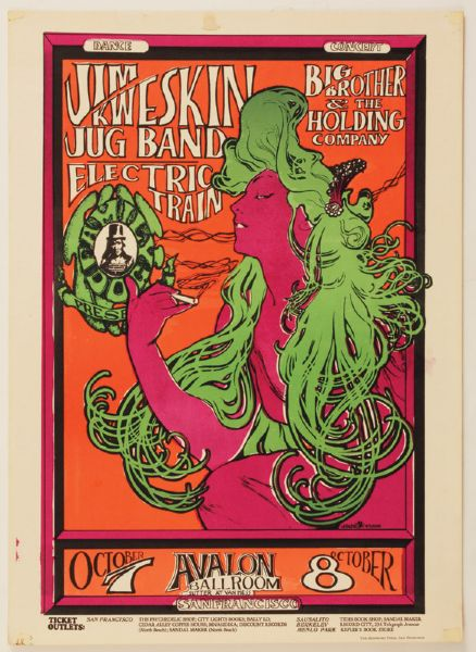 Jim Kweskin Jug Band Original Poster