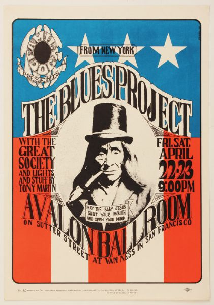 The Blues Project Original Poster